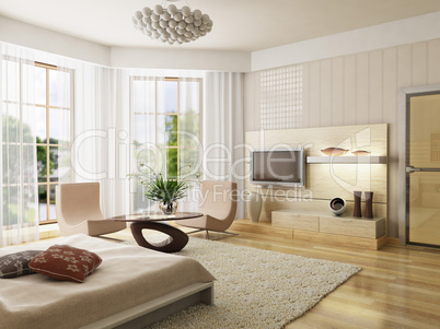 bedroom interior rendering