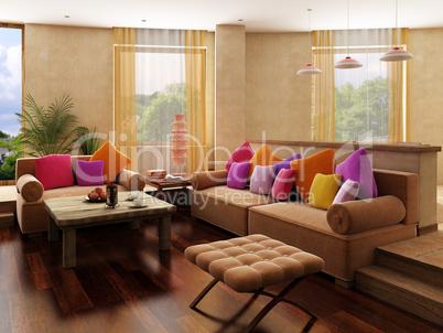 Morocco's style interior