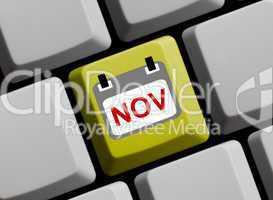 November online