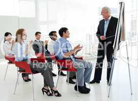 Business people in a conference