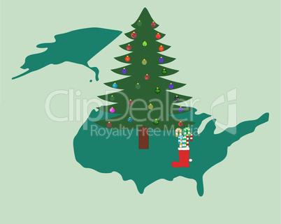 Weihnachten in Nordamerika