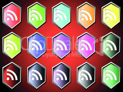 Icon with RSS