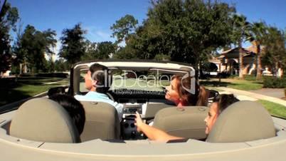 Autofahrt mit Personen