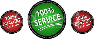service buttons