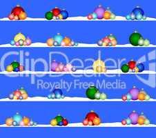 Hintergrund Weihnachtskugeln