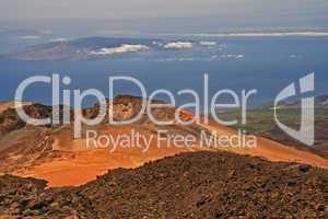 Vulkankrater im Teide Nationalpark - Teneriffa