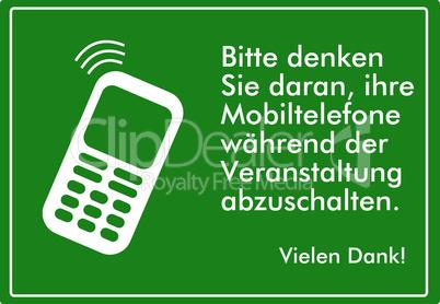 Handy abschalten