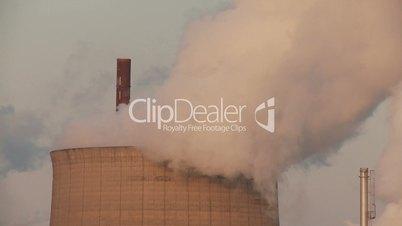 Kühlturm, Raffinerie, Wasserdampf