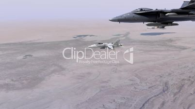 F18 Fighter Jets