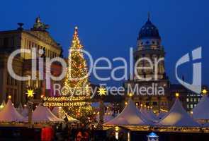 Berlin Weihnachtsmarkt Gendarmenmarkt - Berlin christmas market Gendarmenmarkt 11