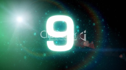 Space countdown