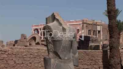 Statue im Luxor Tempel, Ägypten