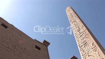 Obelisk, Luxor Tempel, Ägypten