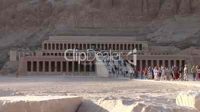 Hatschepsut Tempel, tal der könige, Ägypten
