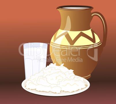 Milk to dinner