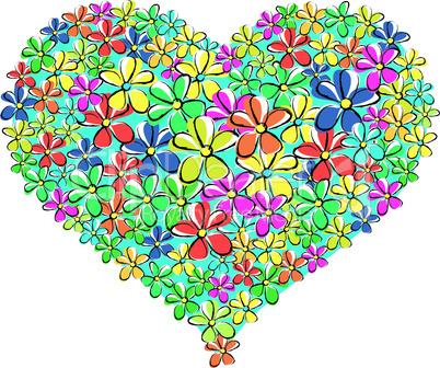My spring heart