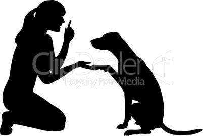 Hundetraining (Obedience): Befehl: Pfote