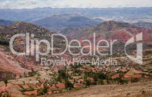 Andenlandschaft in Peru