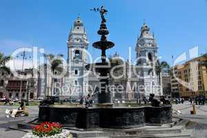 Stadtmitte von Lima, Peru