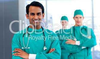 surgeons showing diversity