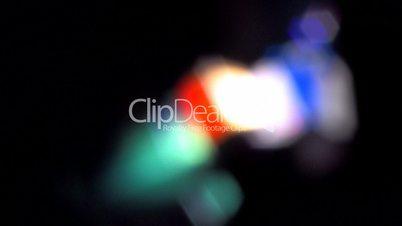 HD Lighting during performance, defocused