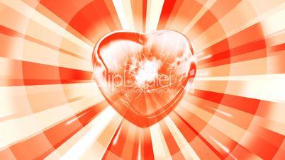 Shinihg heart