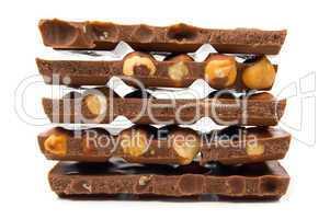 Hazelnut and chocolate