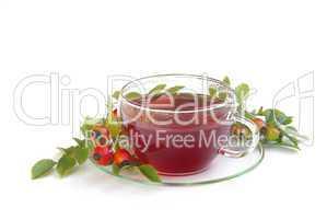 Tee Hagebutte - rose hip tea 01