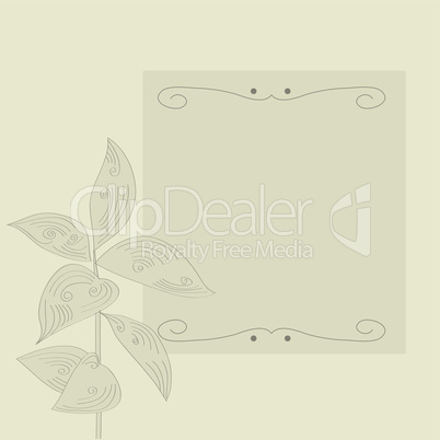 Gray decorative background