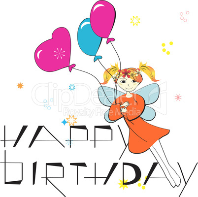 Birthday vector composition