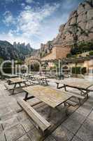 Monastery Montserrat, Spain