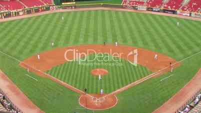 Baseball Stadium Home Run 02