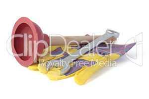 Werkzeuge eines Klempners