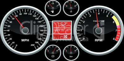 Speed indicator