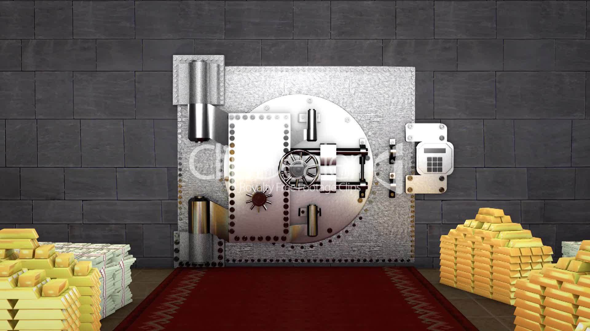 Bank Vault Royalty Free Video And Stock Footage