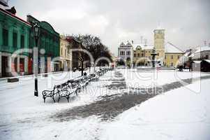 Karvina square CZ