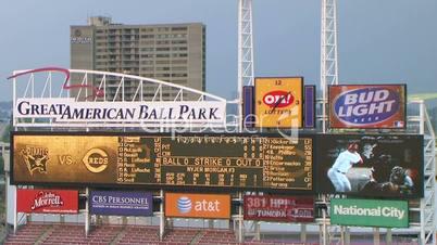 Electronic Baseball Scoreboard