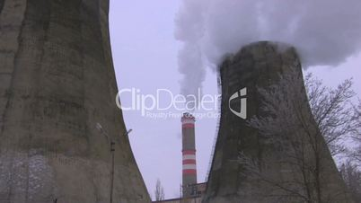 HD Full view of the powerplant