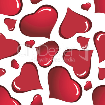 Valentine days seamless background