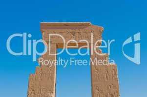 Dendera temple near Luxor, Egypt, Africa