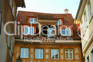 Cozy balcony in Stuttgart-Esslingen old town