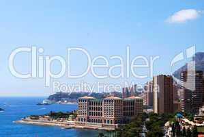 Monaco and mediterranean sea