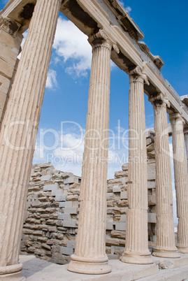 Temple Erechtheion of the architectural ensemble Acropolis