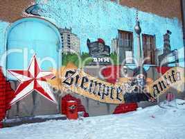 Street Art - Siempre Antifa