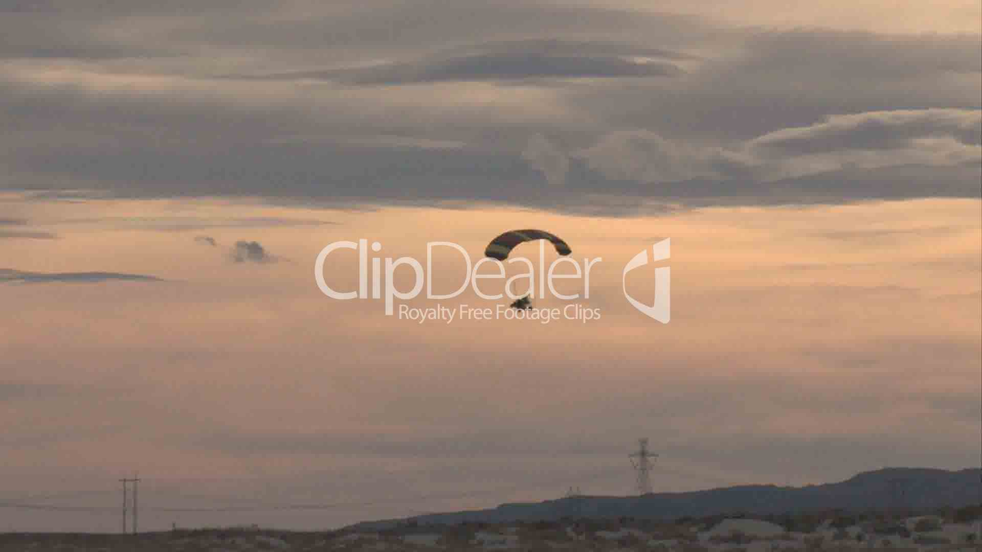 how to fly a powered parachute video