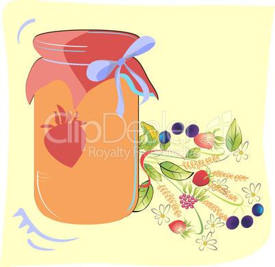 jam glass