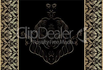 Black Gold Tile