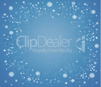 Snow vector background