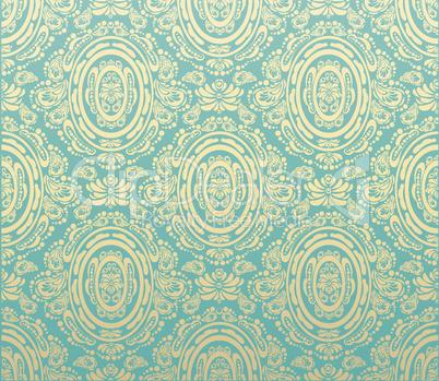 Blue gold seamless
