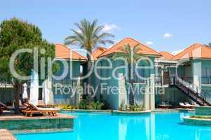 Swimming pool by VIP villas, Antalya, Turkey